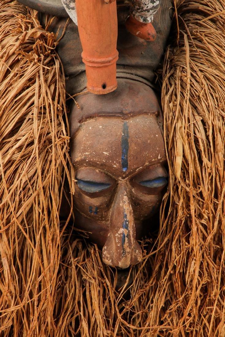 2 Vintage African Masks - 4