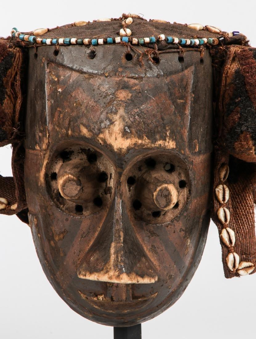 2 Vintage African Masks - 7