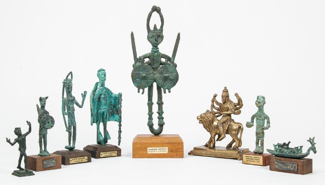 Estate Grouping of 8 Statues