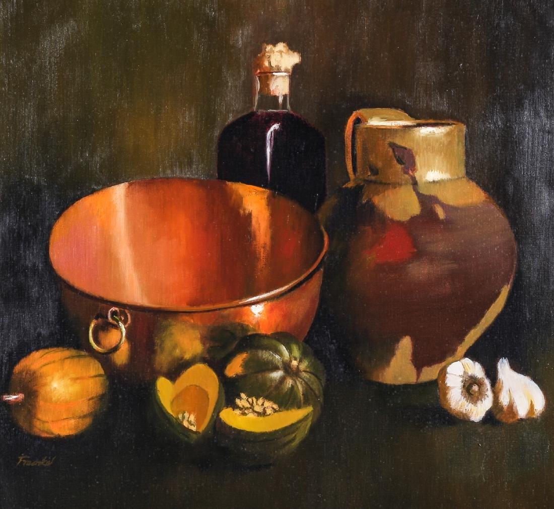 "Peter Fraenkel (American, b. 1955) ""Gourds and Copper - 2"