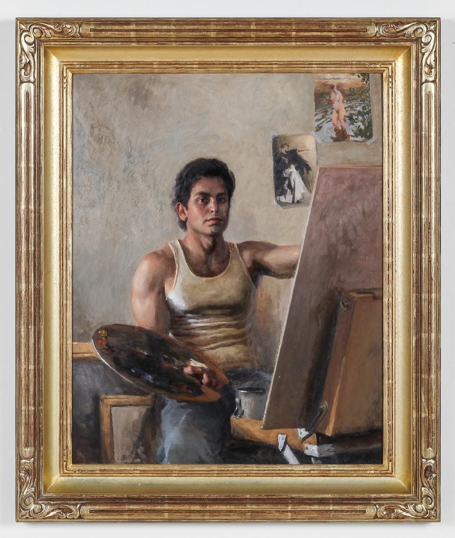 """Ernesto Nemesio (b. 1978) """"Self Portrait"""""""