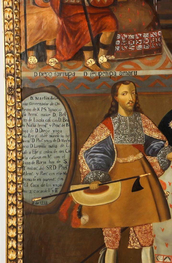 Fine Cuzco School Painting, 20th C. - 3