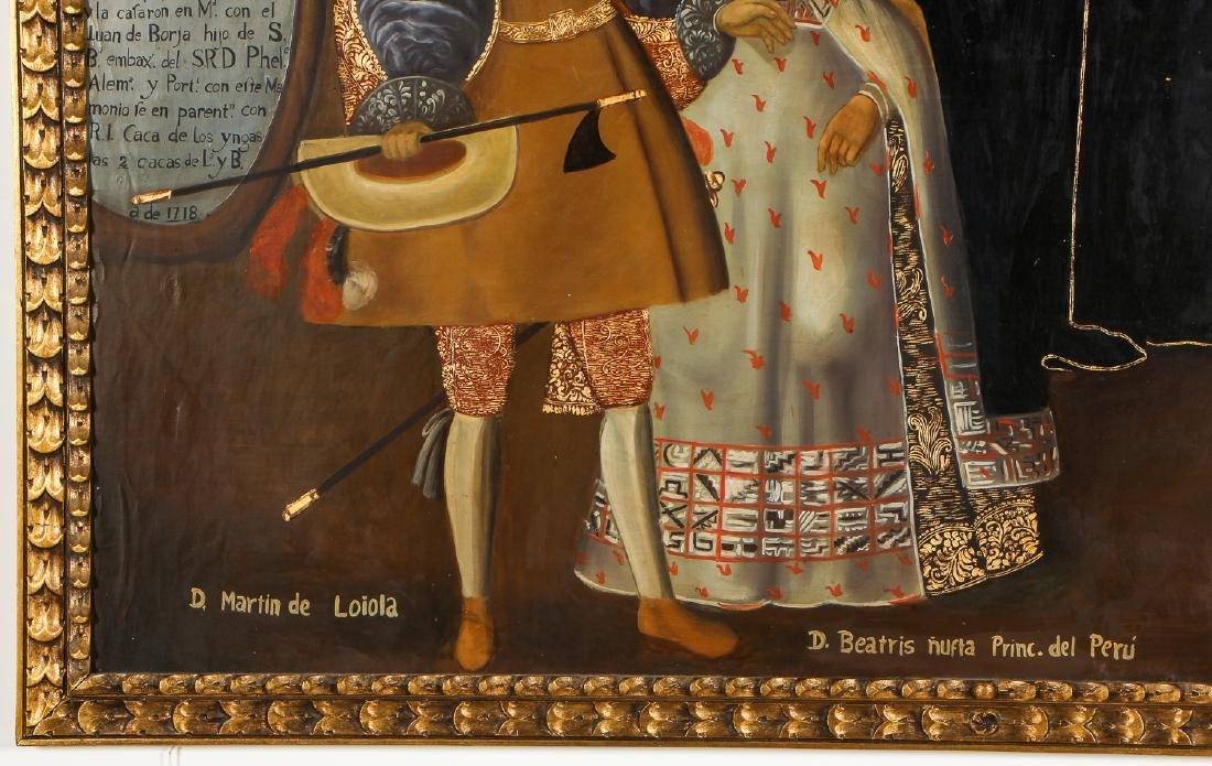 Fine Cuzco School Painting, 20th C. - 4