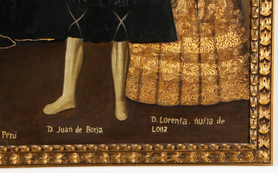Fine Cuzco School Painting, 20th C. - 5