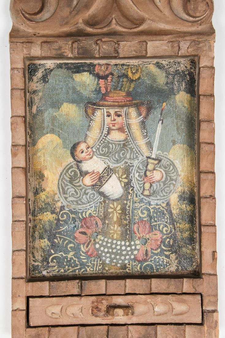 2 Spanish Colonial (Cuzco School) Peruvian Paintings - 4