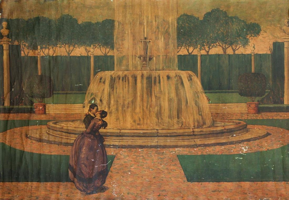 Maurice Molarsky (1885-1950) Mural Painting