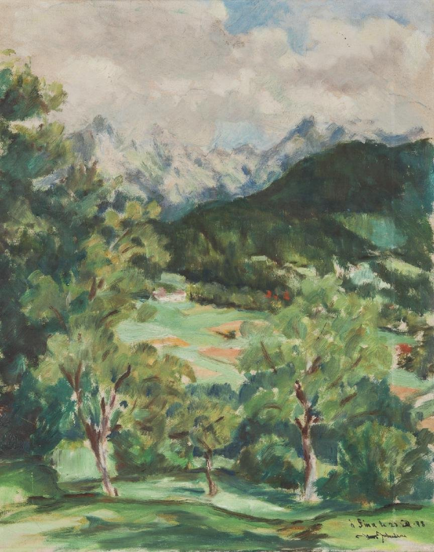 European School (20th c.) Impressionist Landscape
