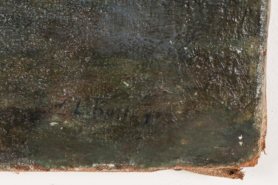 European School (19/20th c.) Landscape with Two Women - 3
