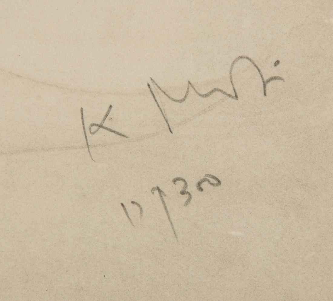 "Kaiko Moti (1921-1989) ""Nude"" Lithograph - 3"