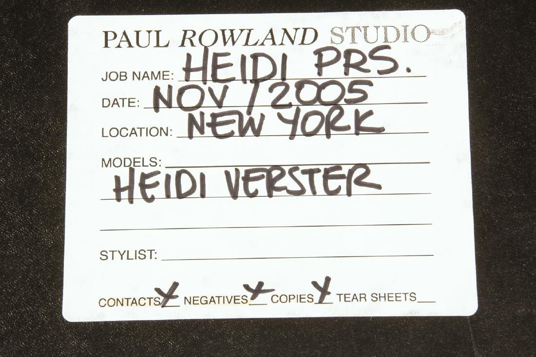 Paul Rowland Studio (American, 20th c.) Portfolio of - 5