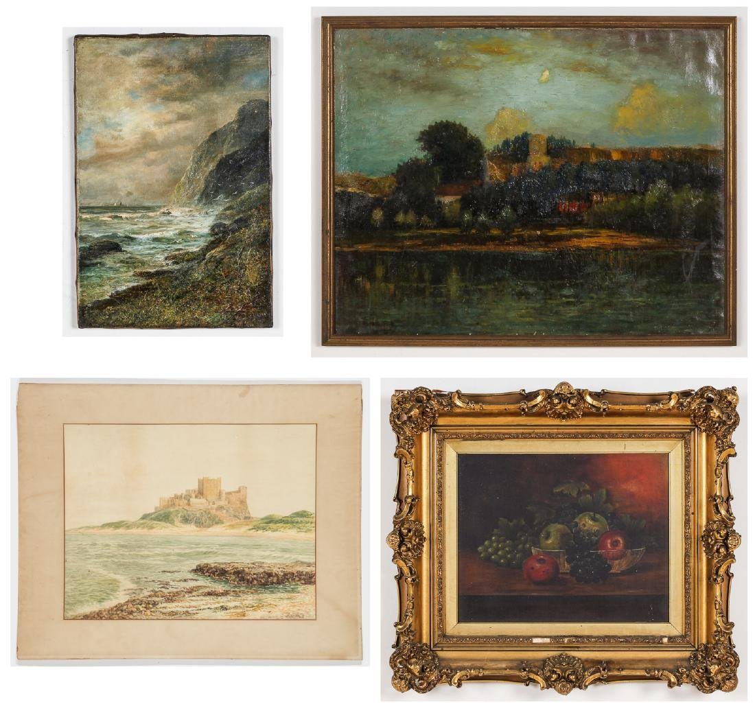 Estate Collection of 4 Works by Various Artists