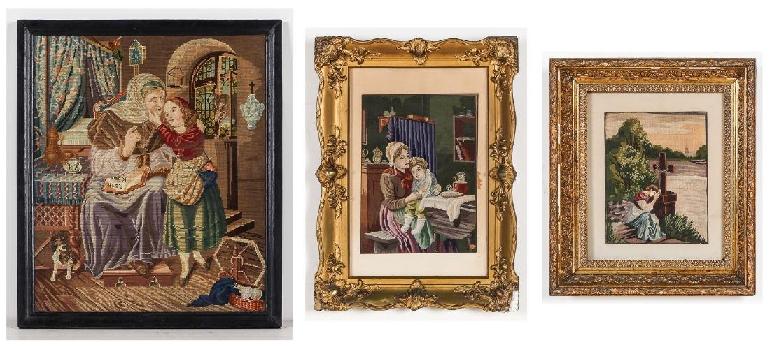 Group of (3) Continental Tapestries