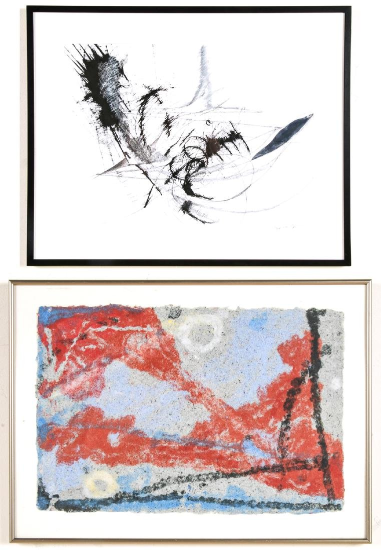 2 Abstract Works: Carole Sivin and Trish Thompson