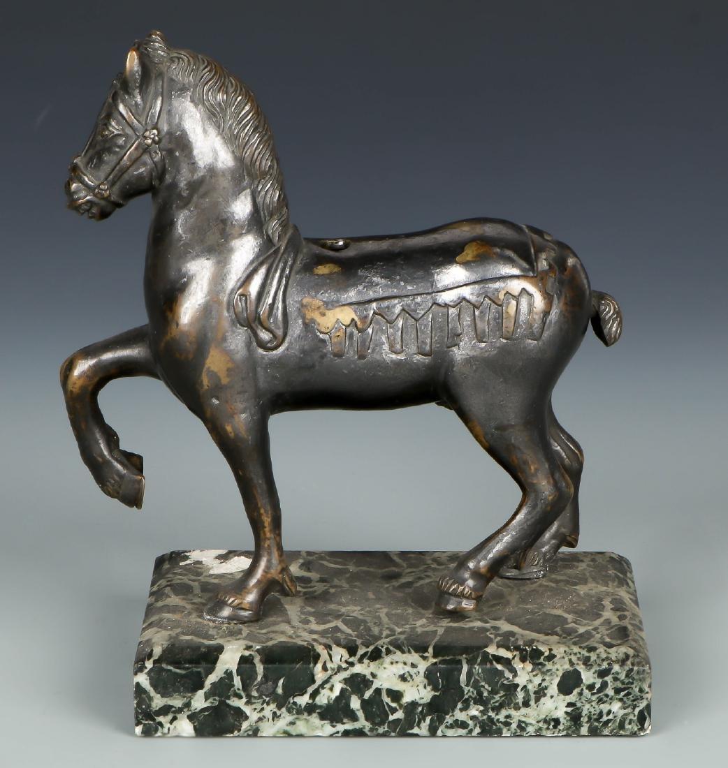 Figural Bronze Statue of a Horse