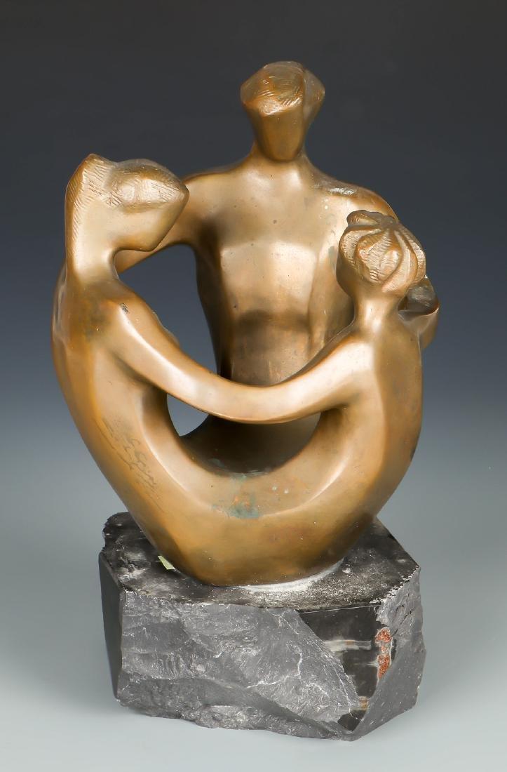 Robert Russin (1914-2007) Bronze Sculpture