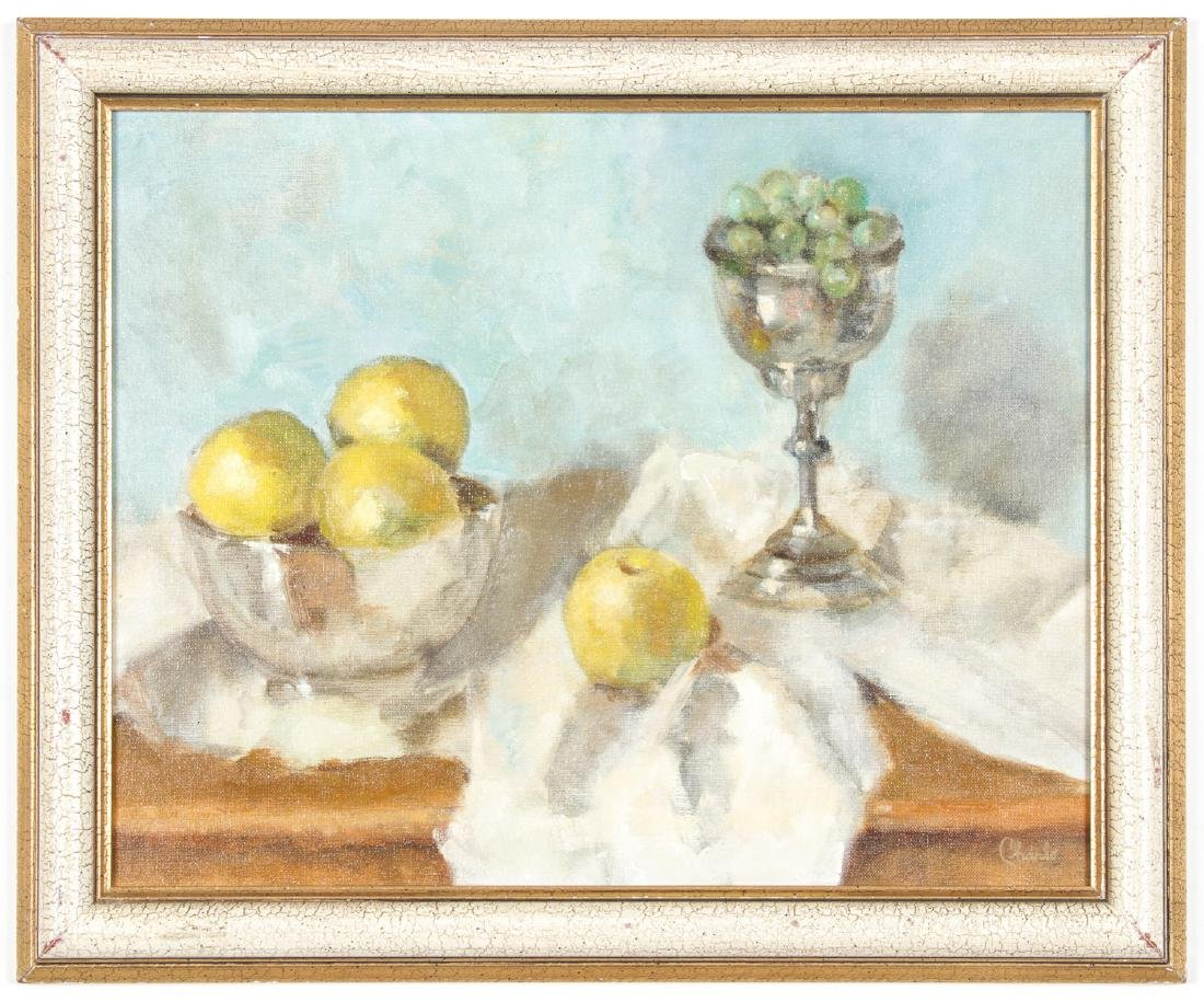 "Charlotte Johnson (American, 20th c.) ""Still Life"""