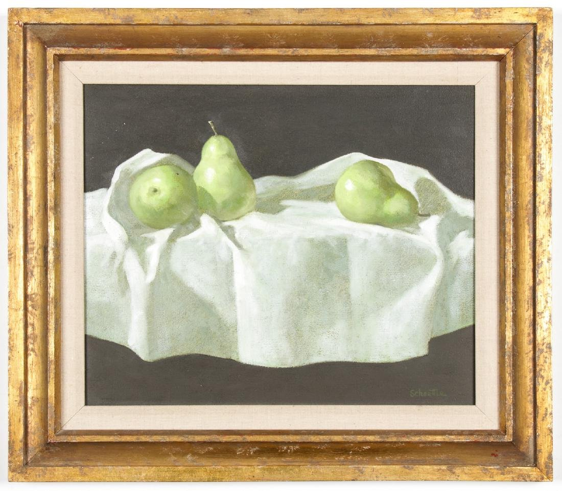 "Marc C. Schoettle (1925-1982) ""Still Life with Pears"""