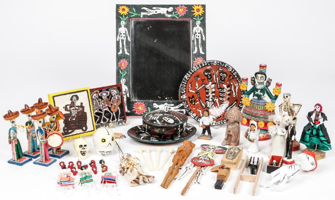 Large Estate Collection of Misc. Mexican Folk Art Items