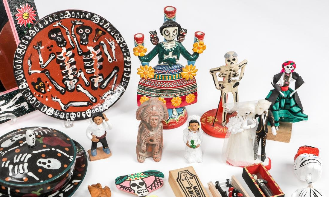 Large Estate Collection of Misc. Mexican Folk Art Items - 4