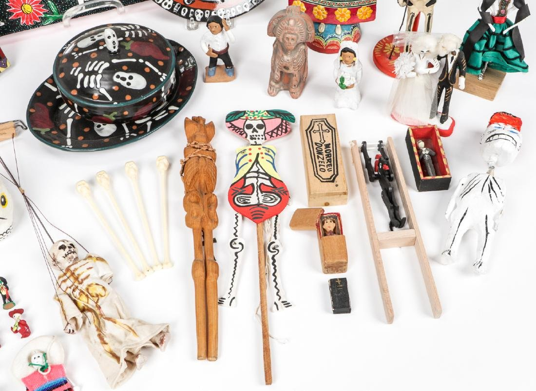Large Estate Collection of Misc. Mexican Folk Art Items - 5