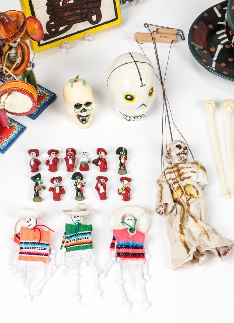 Large Estate Collection of Misc. Mexican Folk Art Items - 6