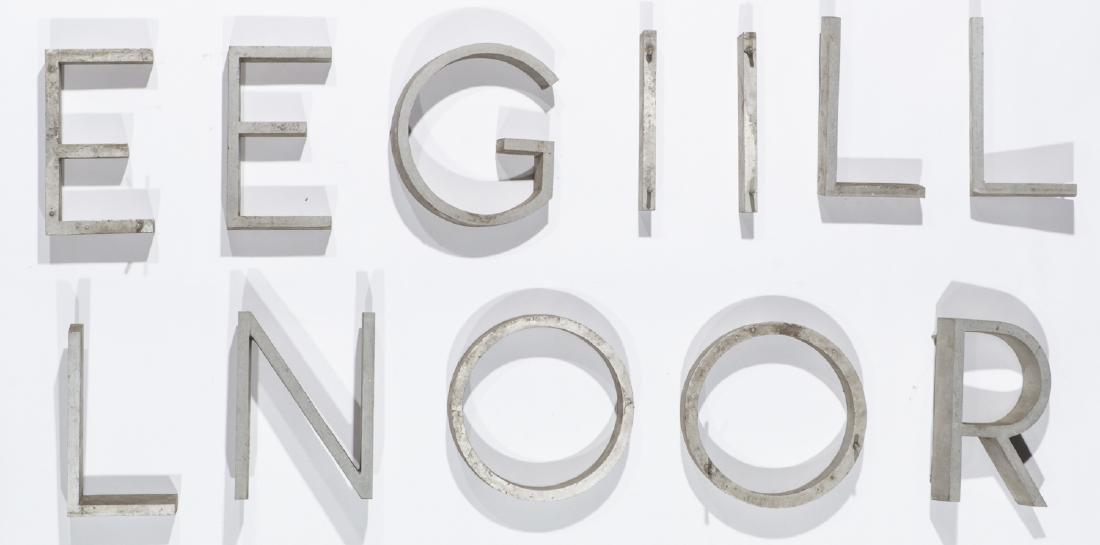22 Vintage Industrial Sign Letters - 3