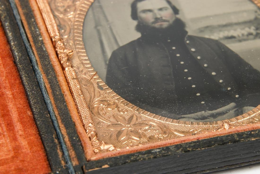 2 Civil War Tintype Portraits, c. 1860's - 5