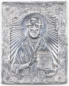 """Henryk Winograd """"St. Paul"""" Pure Silver Icon"""