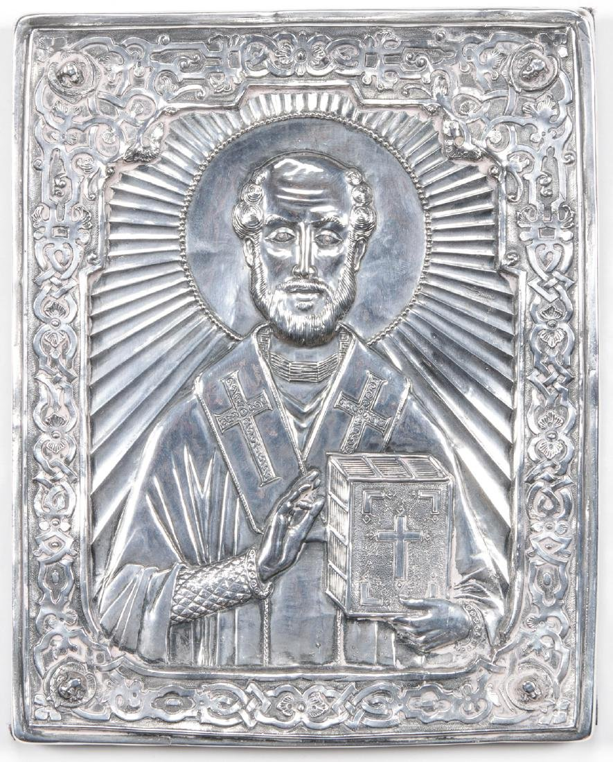 "Henryk Winograd ""St. Paul"" Pure Silver Icon"