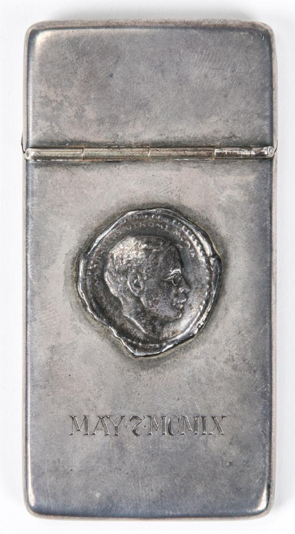 Antique Silver Calling Card Case