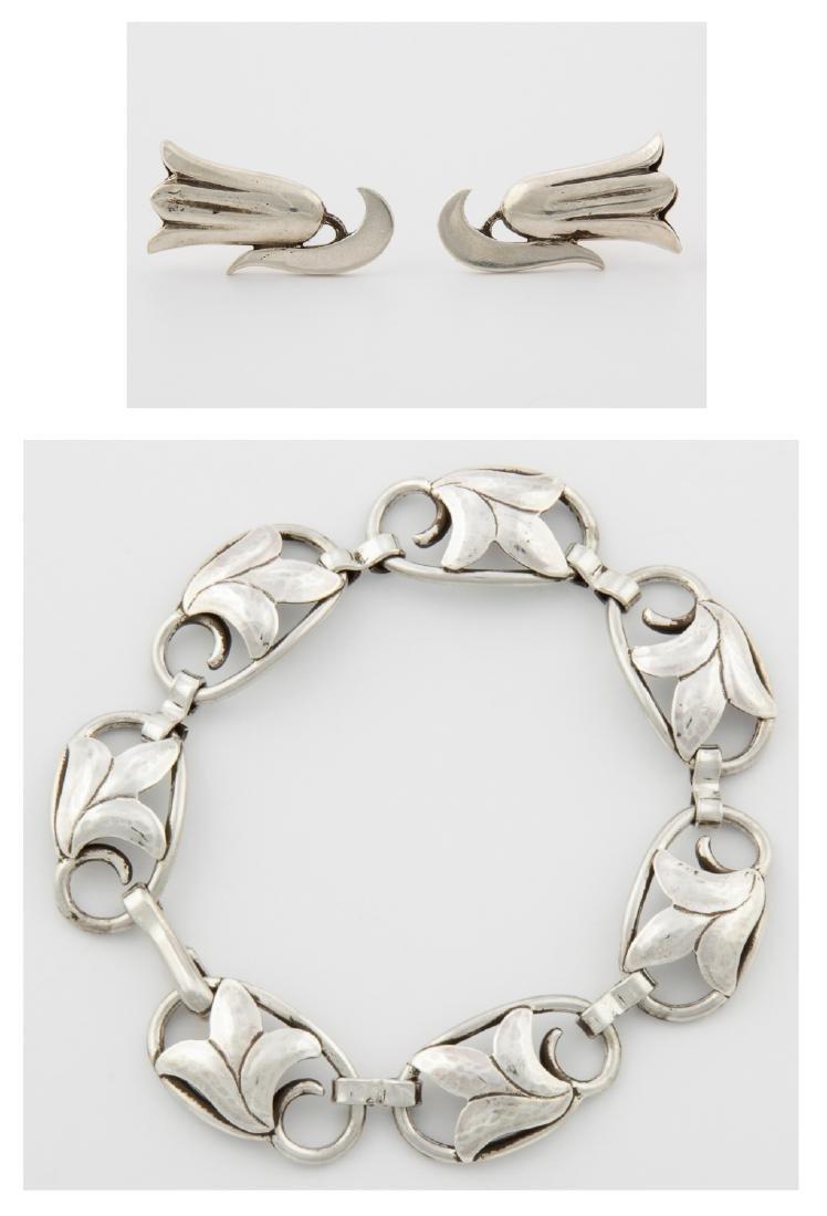 Georg Jensen USA Bracelet and Earrings