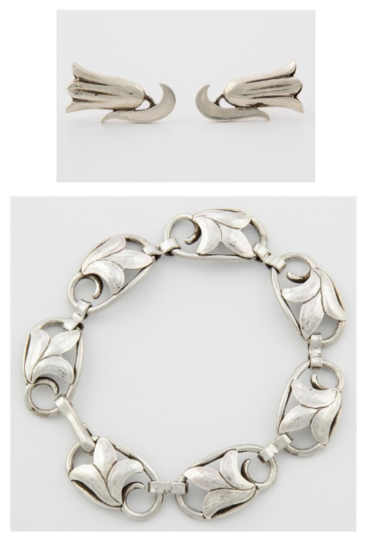 Georg Jensen USA Bracelet and Earrings