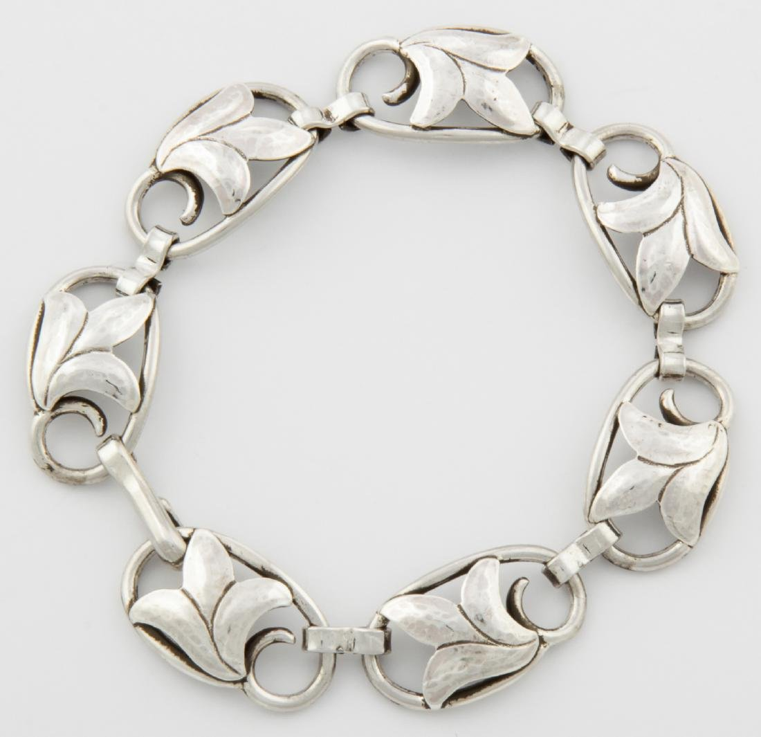 Georg Jensen USA Bracelet and Earrings - 6