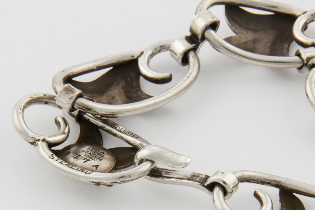 Georg Jensen USA Bracelet and Earrings - 7