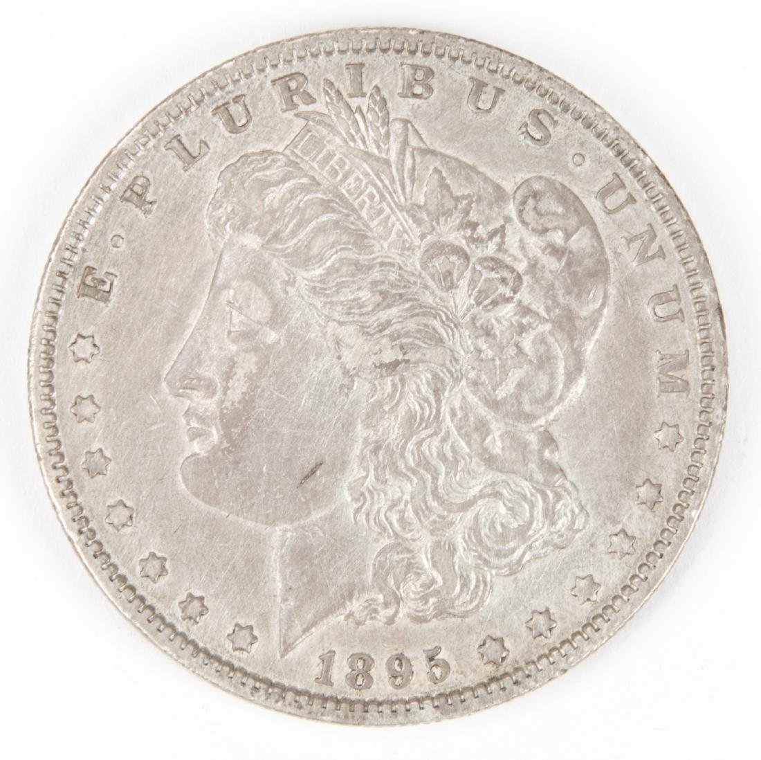 1895 O Morgan Silver Dollar