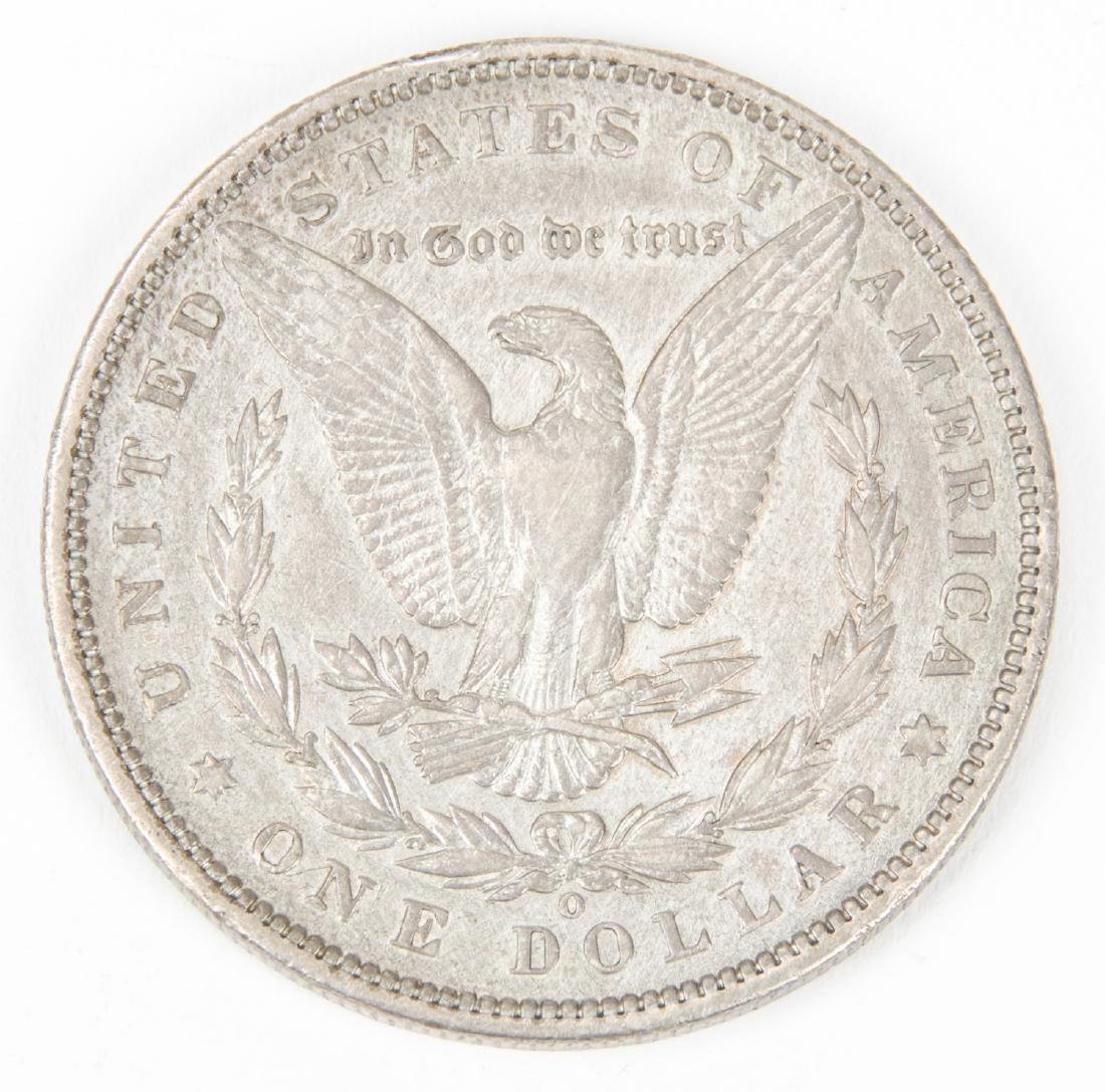 1895 O Morgan Silver Dollar - 2