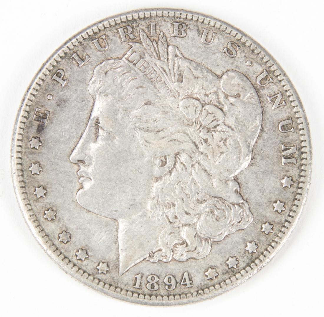 1894 S Morgan Silver Dollar