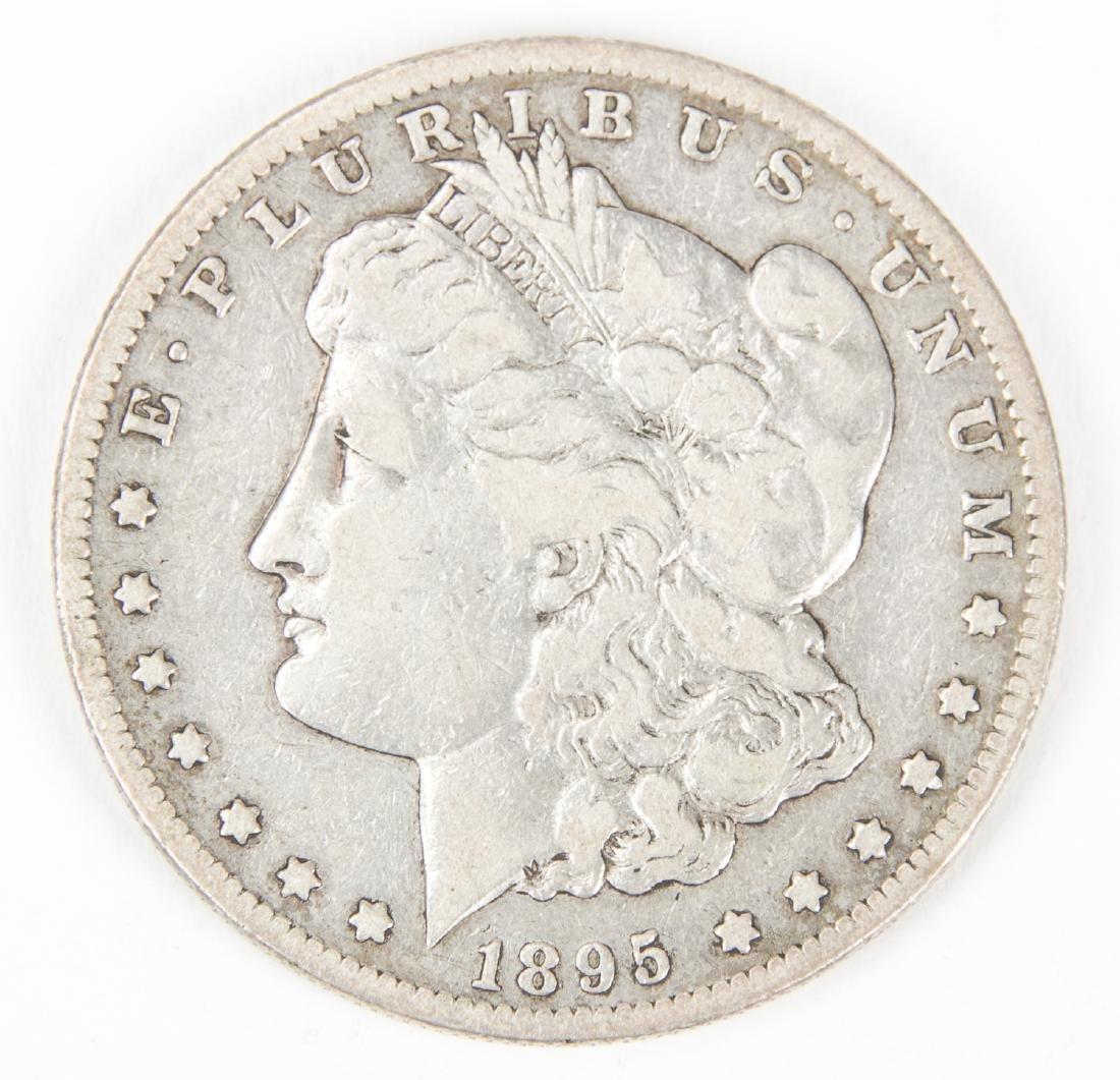 1895 S Morgan Silver Dollar