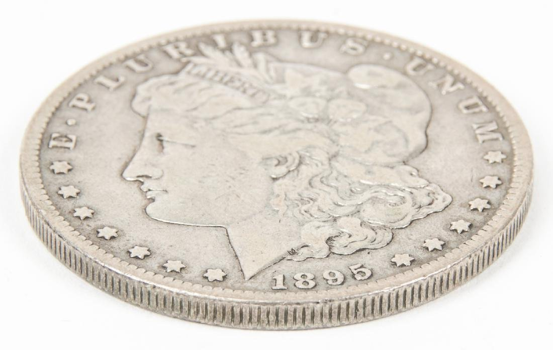 1895 S Morgan Silver Dollar - 3