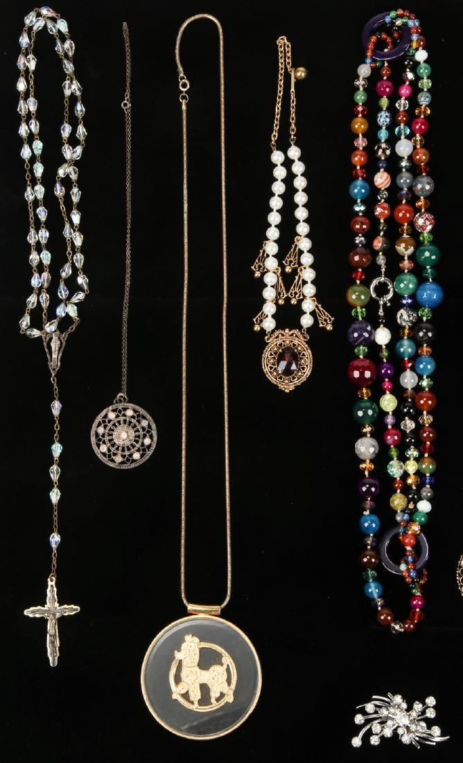 Lot Vintage Costume Jewelry, including Florenza and - 2