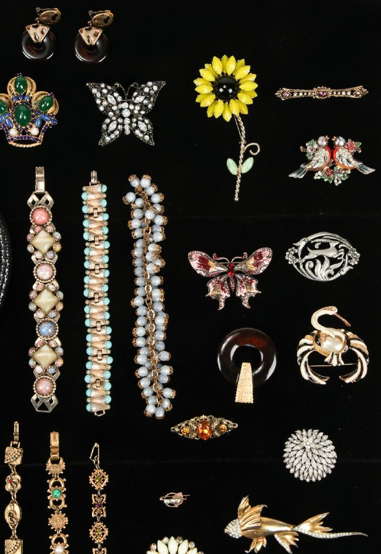 Lot Vintage Costume Jewelry, including Florenza and - 4