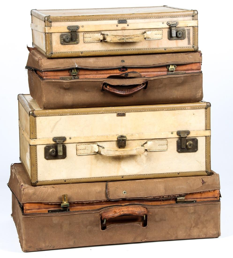 4 Vintage Hartmann Suitcases