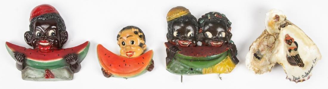 18 pc Black Americana Memorabilia Collection. - 2