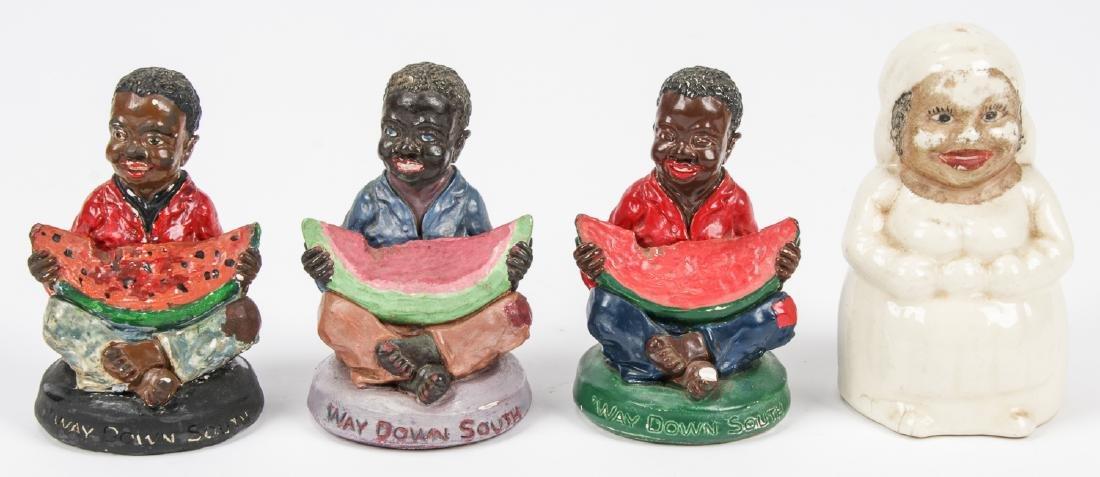 18 pc Black Americana Memorabilia Collection. - 6