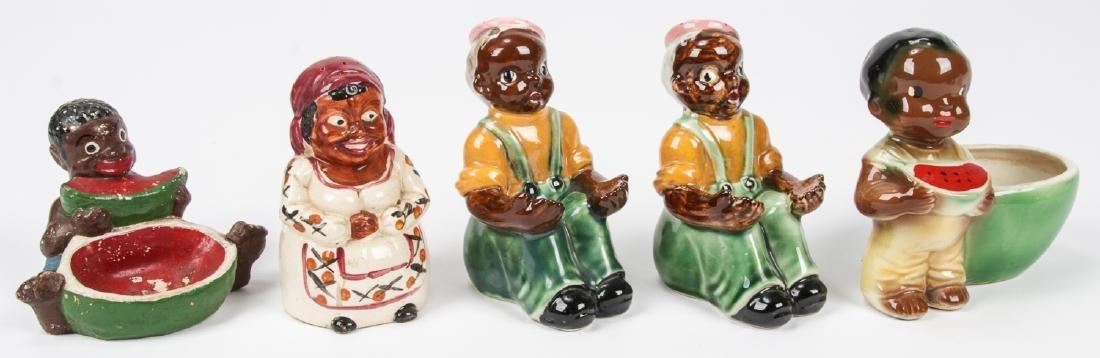 18 pc Black Americana Memorabilia Collection. - 8