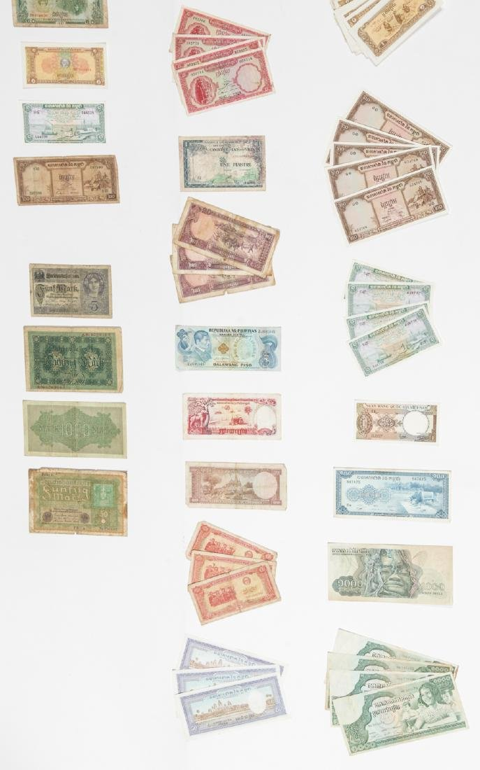 Travel Archive of Paper Money, Stamps, and Postcards, - 4