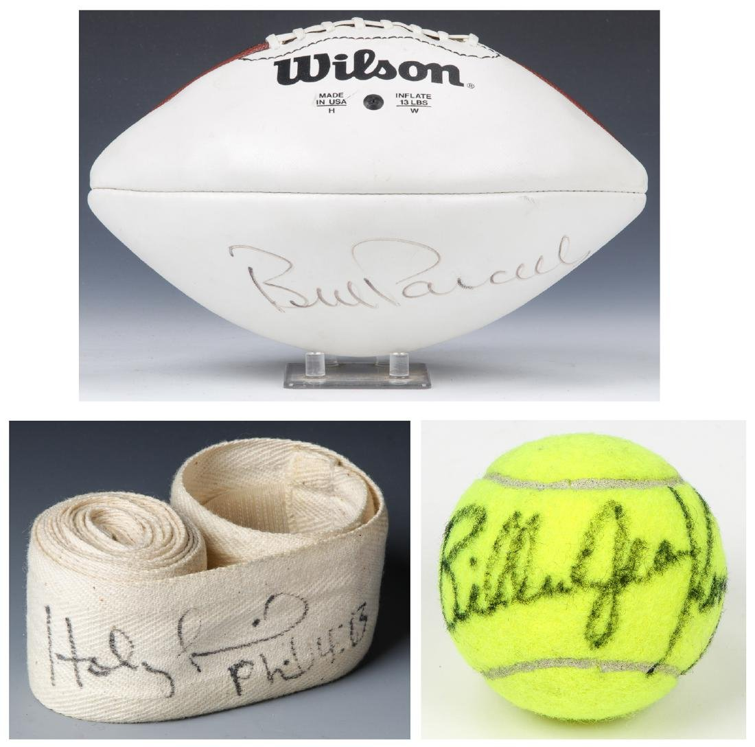 Sports Signature Collection: Holyfield, Parcells, Billy