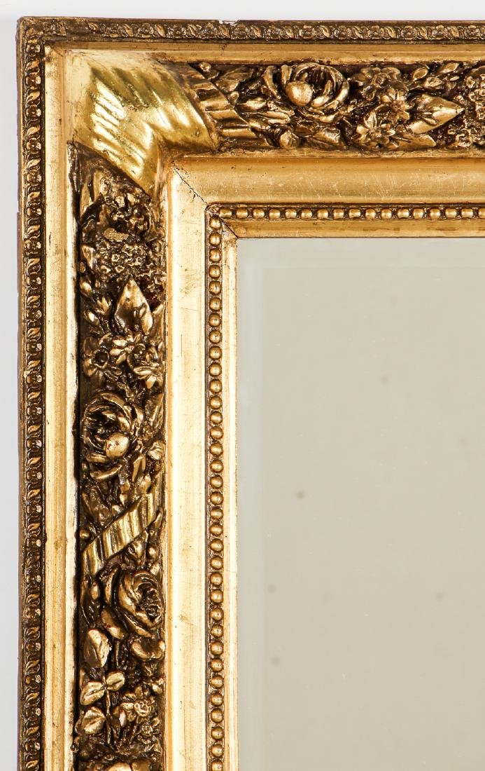 Old Syrian Carved Gilt Mirror - 2