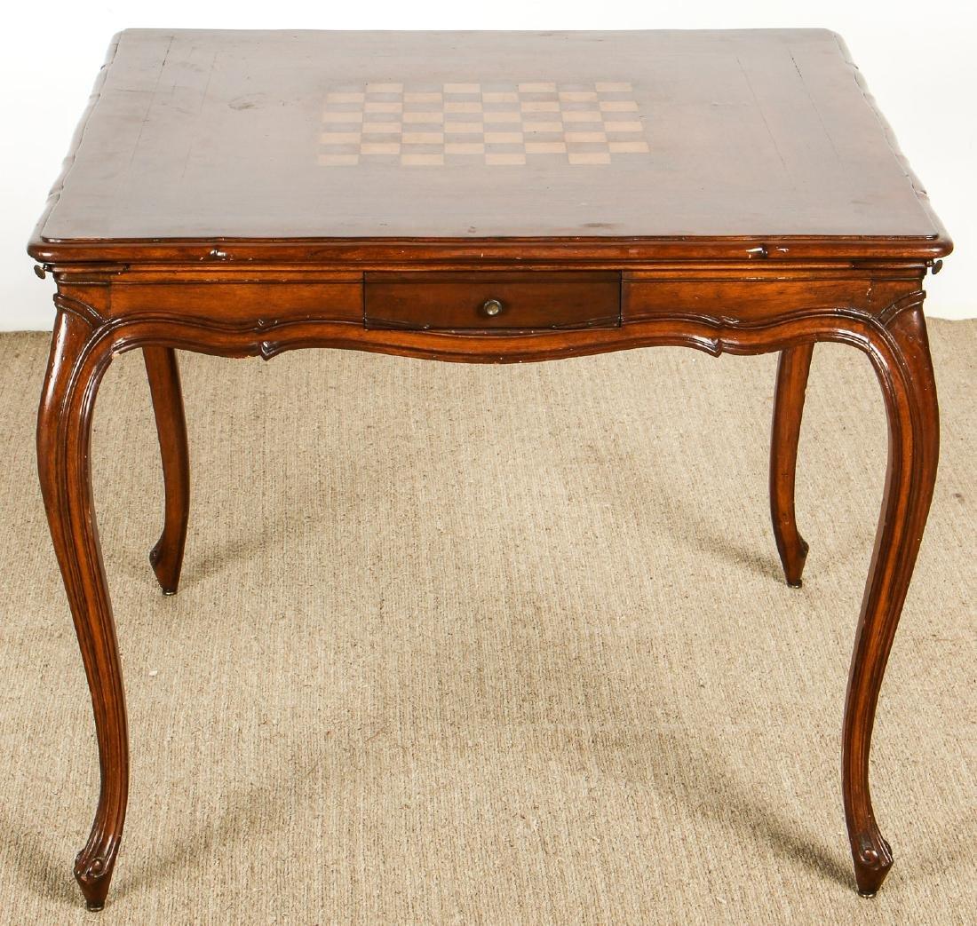 Louis XVI Style Chess Table