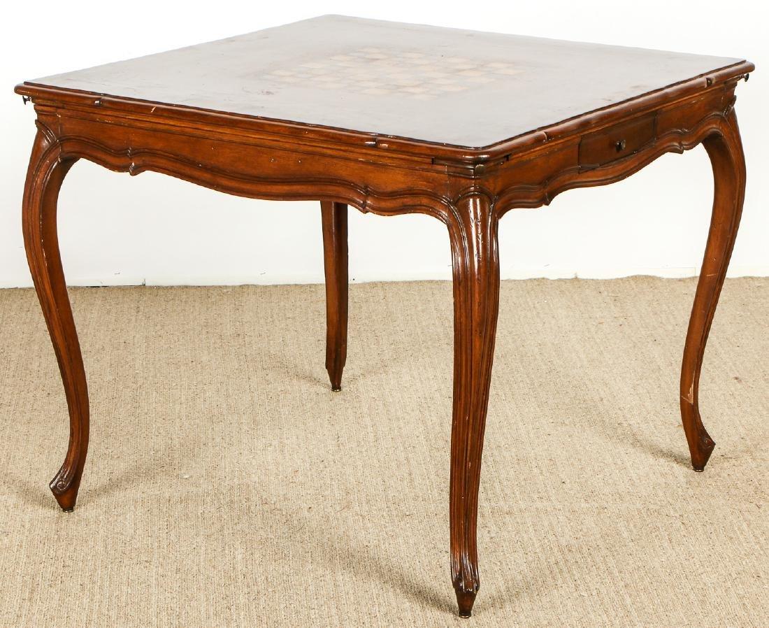 Louis XVI Style Chess Table - 5
